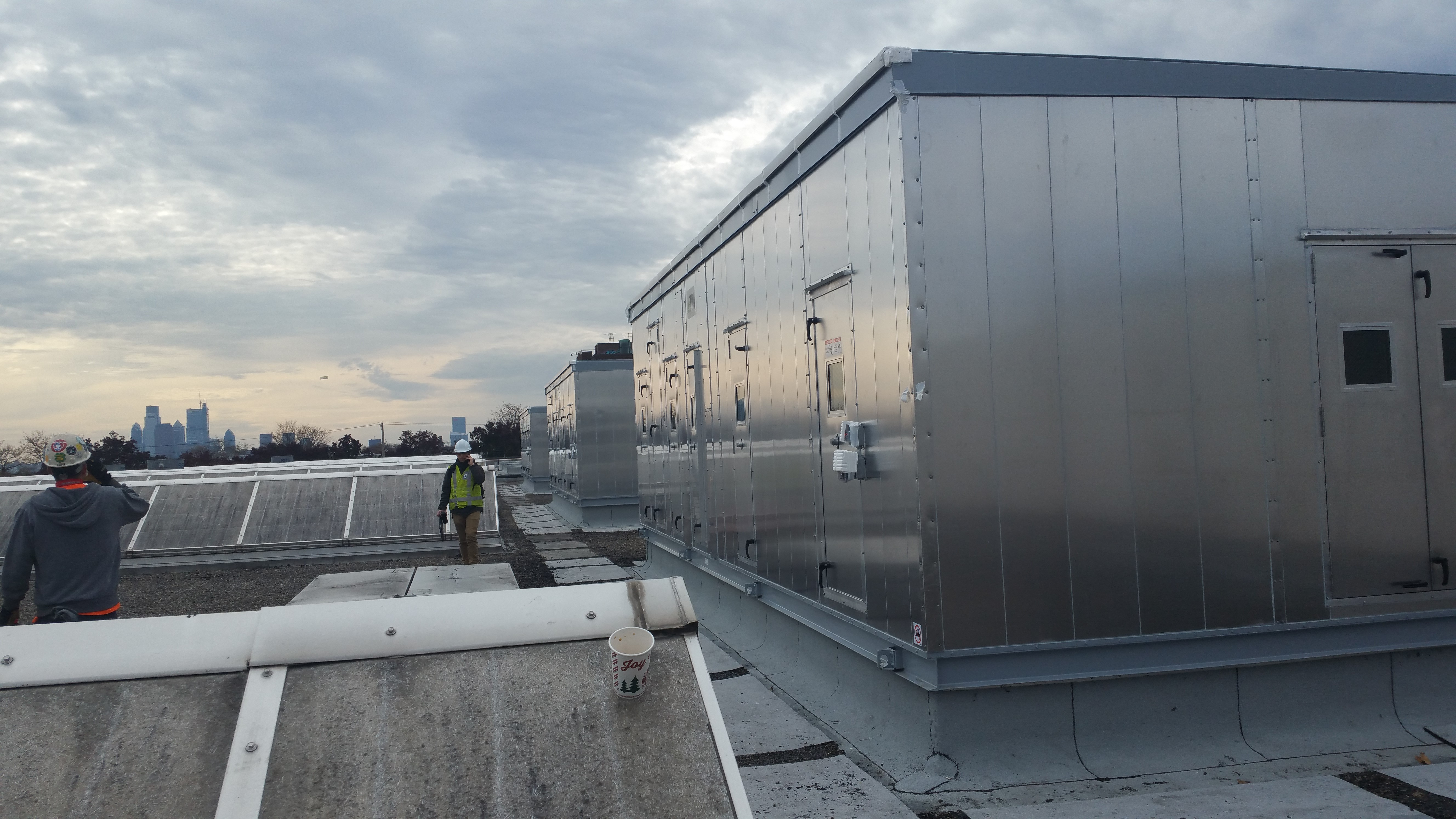 TMI Heat Recovery Units For SEPTA